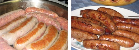 sausages composite