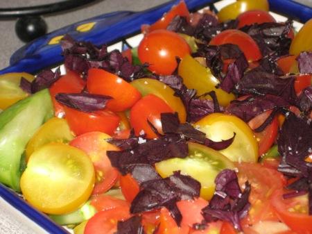 tomatoes & basil