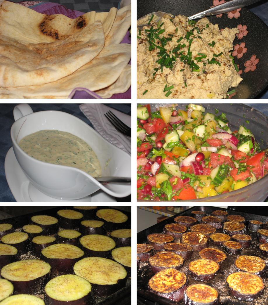 Sabich (Eggplant Sandwich With Hard Boiled Eggs) Recipes — Dishmaps