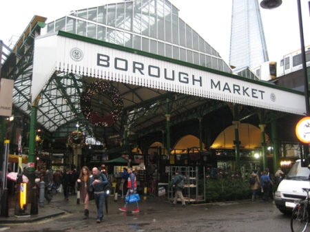 Borough Market - entrance