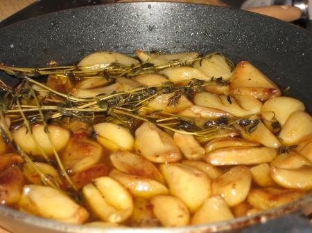 braised garlic
