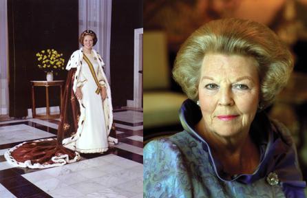 Queen Beatrix (x2)