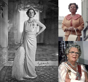 Queen Juliana (x3)