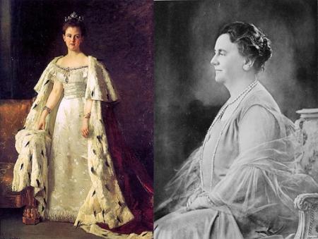 Queen Wilhelmina (x2)