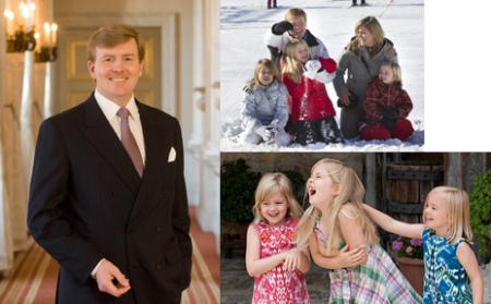 Willem Alexander & Family