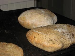 baked pita