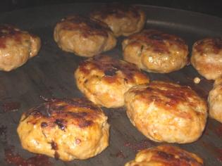 cooking patties
