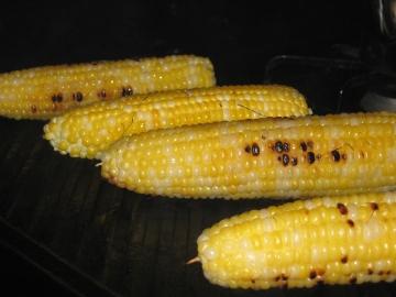 charring corn