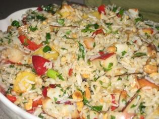 rice salad - 1