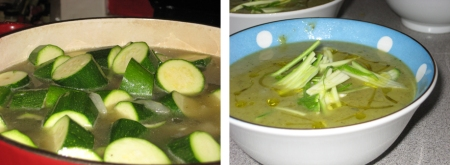 soup before & after