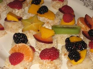 fruit sushi