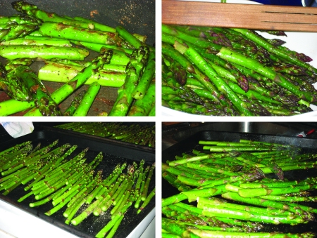 all the asparagus