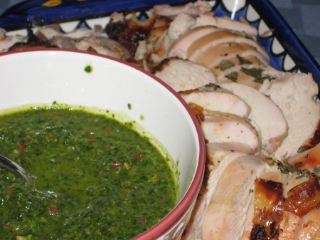 chicken & chimichurri