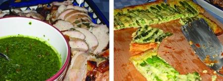 chicken & tart