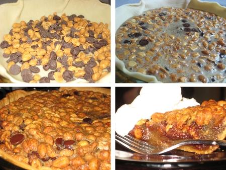 pie in progress